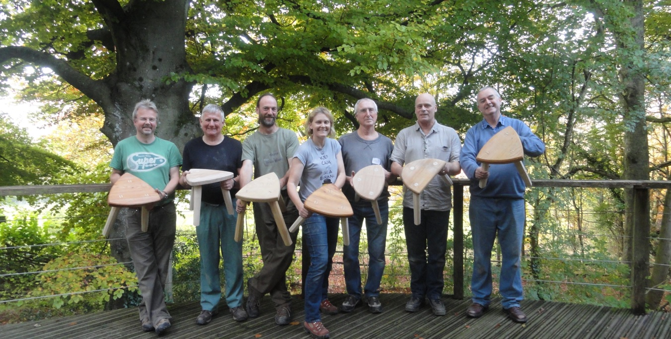 Introduction to Chair Making – Make a Three Legged Stool Workshop