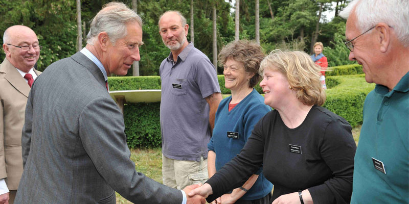 Royal visit from His Royal Highness, The Prince of Wales