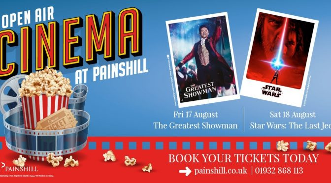 Open Air Cinema comes to Painshill