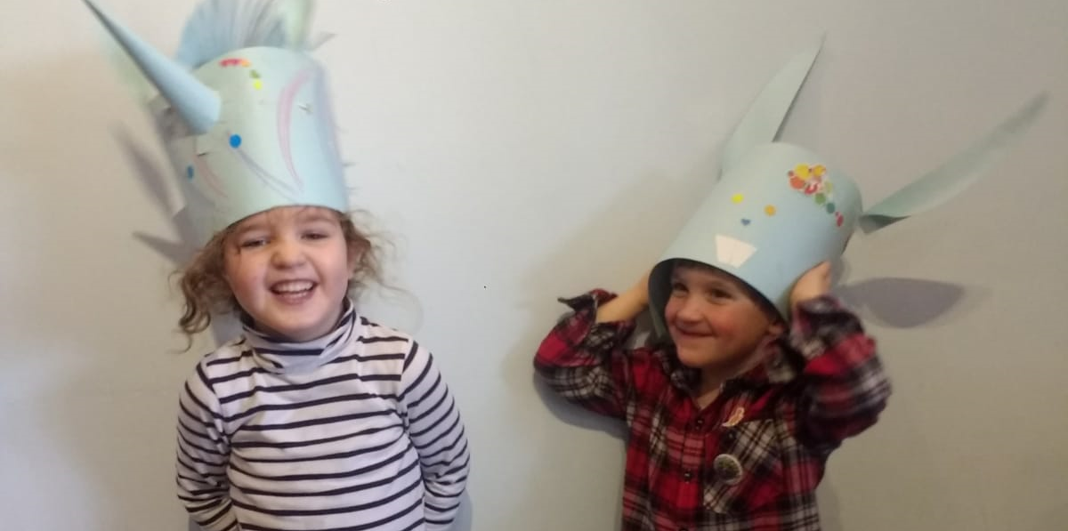 Easter Bunny Hat Craft Activity