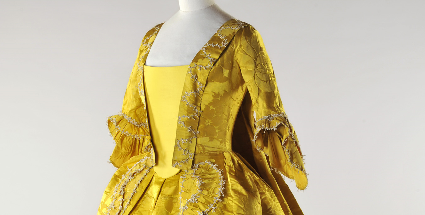 Afternoon Talk: Dressed to Impress – Fashions of the 18th century