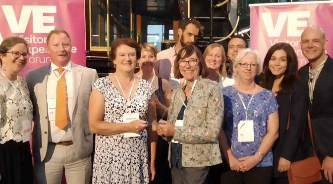 Painshill volunteers win at the Visitor Experience Awards