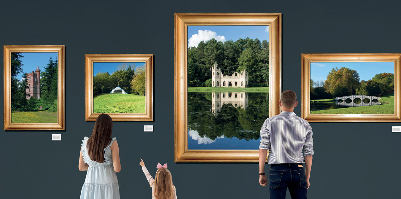 Local Artists at Painshill