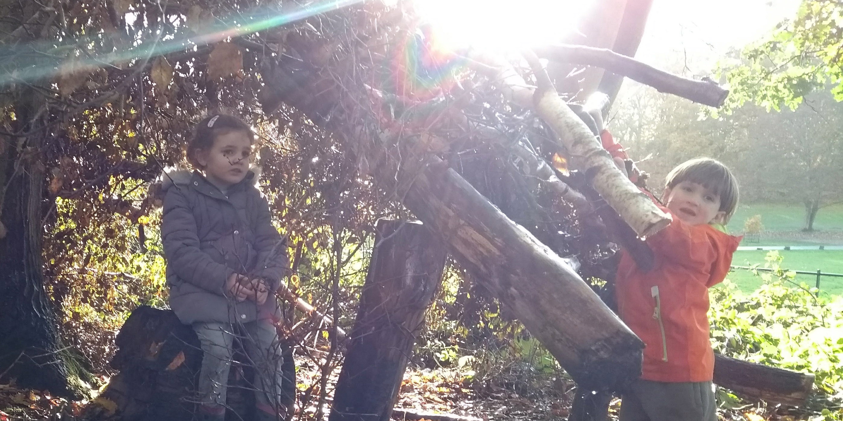 Into the Woods:  Parent & Child Forest School
