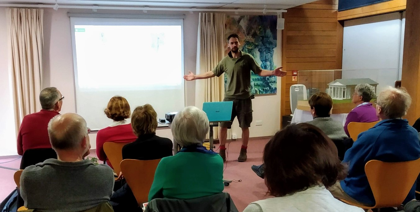 Talk: Conservation & Climate by Andy Mills