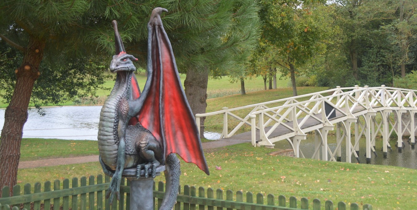 Dragons at Painshill