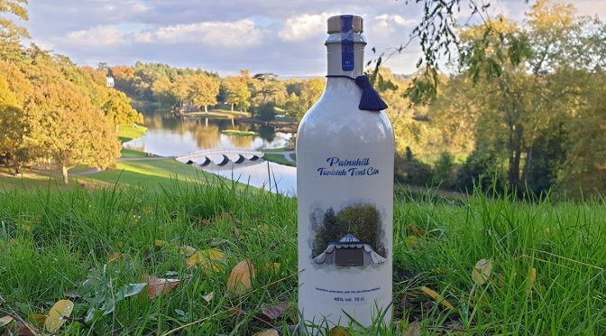 New Painshill Gin inspired by the Turkish Tent