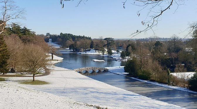Painshill in the snow