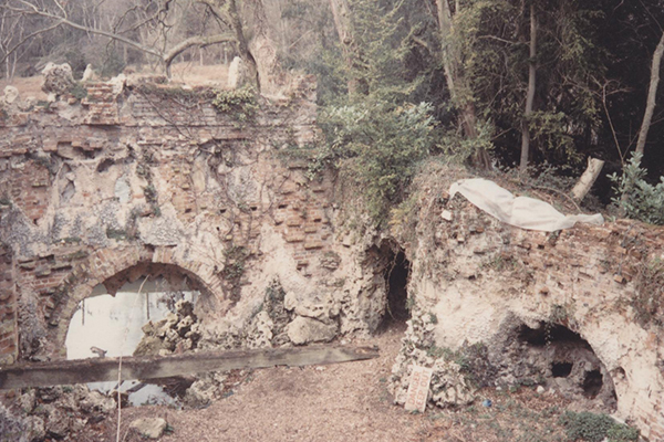 Painshill Crystal Grotto - Before