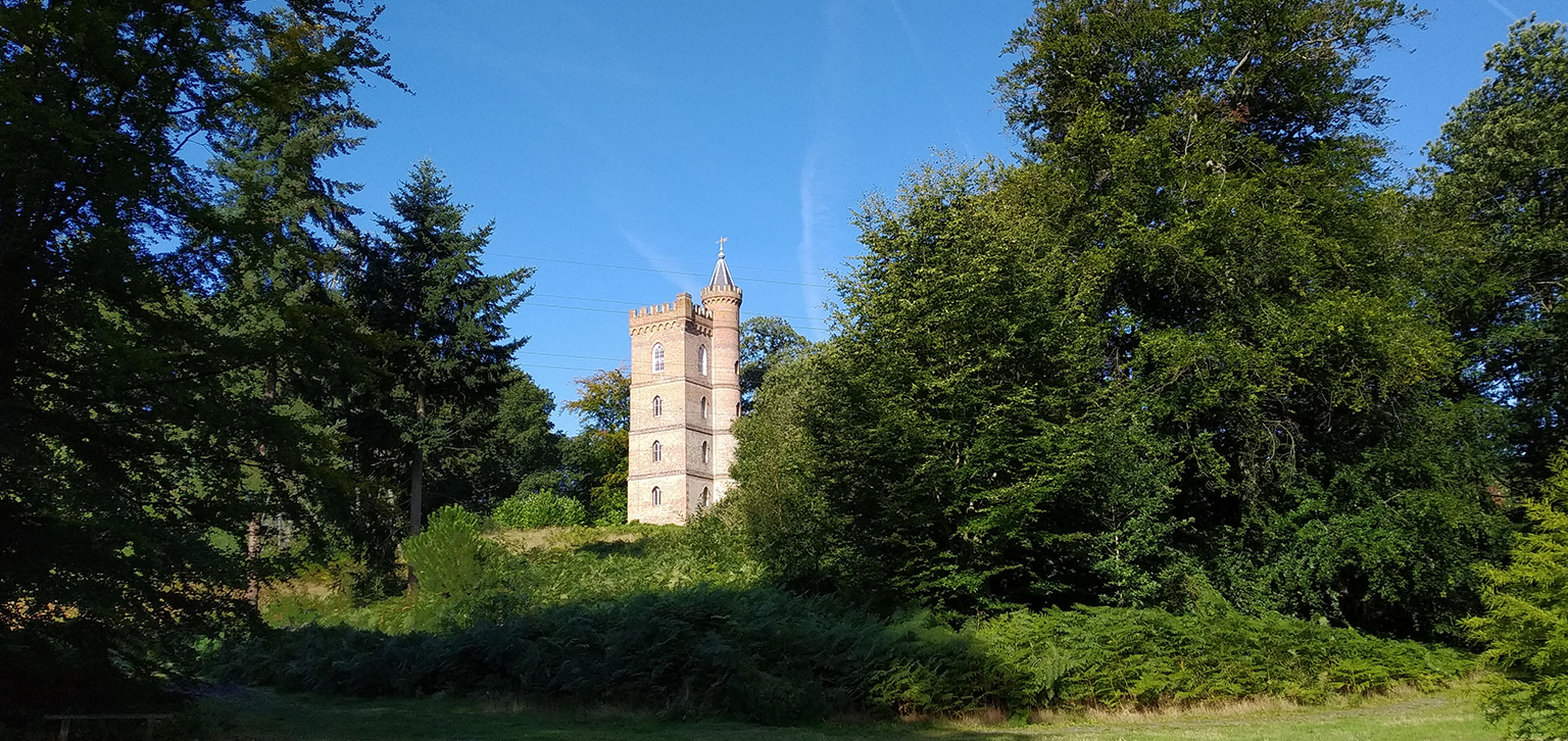 The Gothic Tower in summer