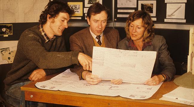Group for A V 1986 timeline