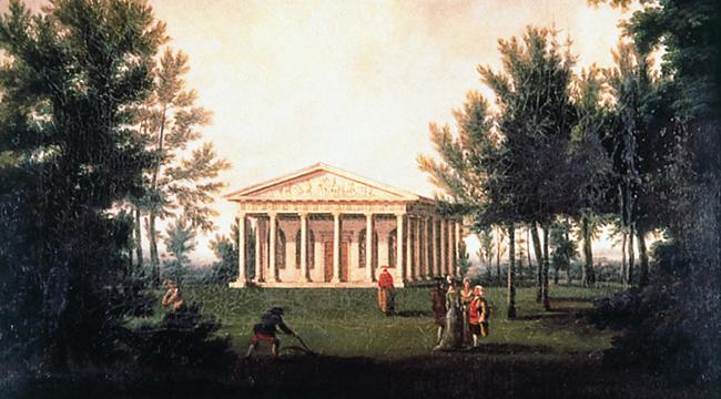 Hamilton completes Temple of Bacchus timeline