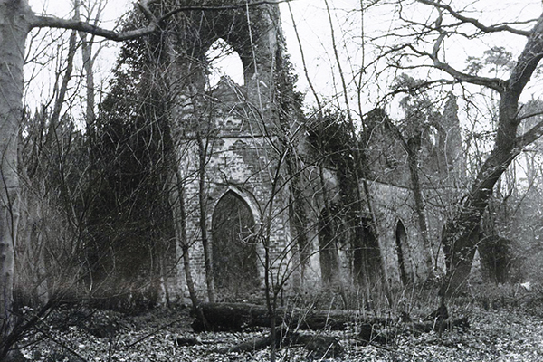 Painshill Ruined Abbey - 1970s