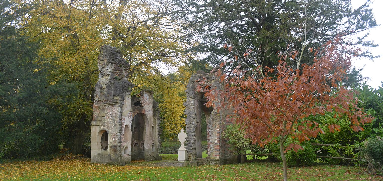 The Mausoleum in Autumn