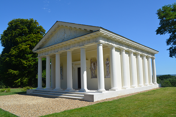 Painshill Temple of Bacchus - Now
