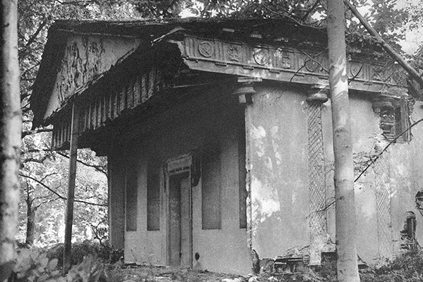 Painshill Temple of Bacchus - ruins