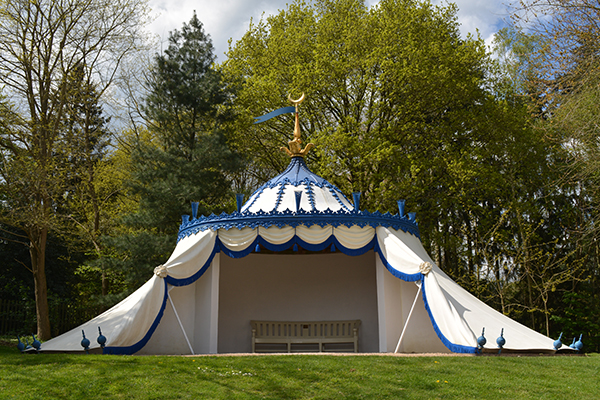 Painshill Turkish Tent Now