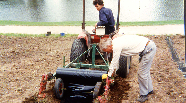 1992 The vineyard is replanted