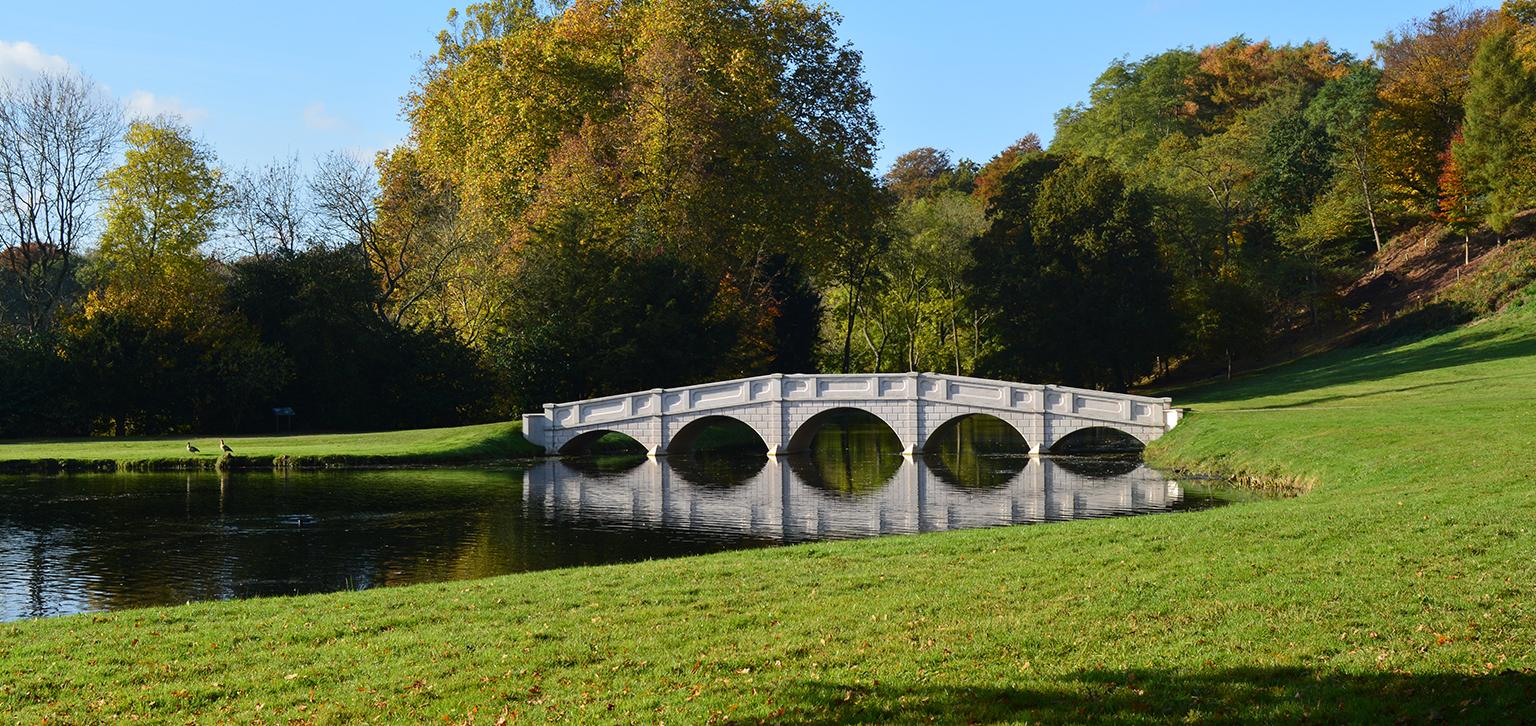 Five Arch Bridge over the Serpentine Lake