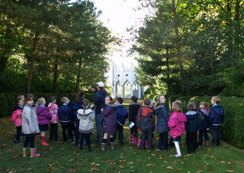 key stage one education at Painshill