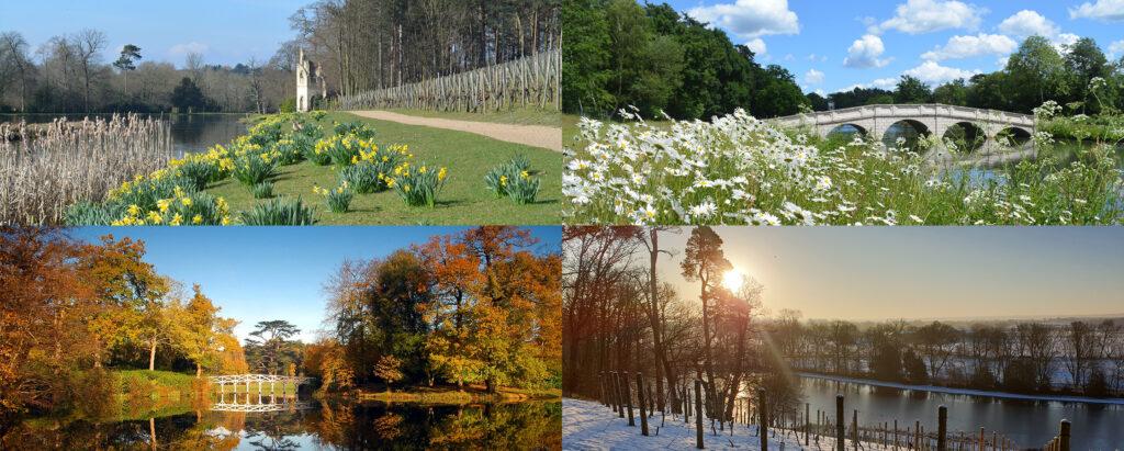 Painshill through the seasons