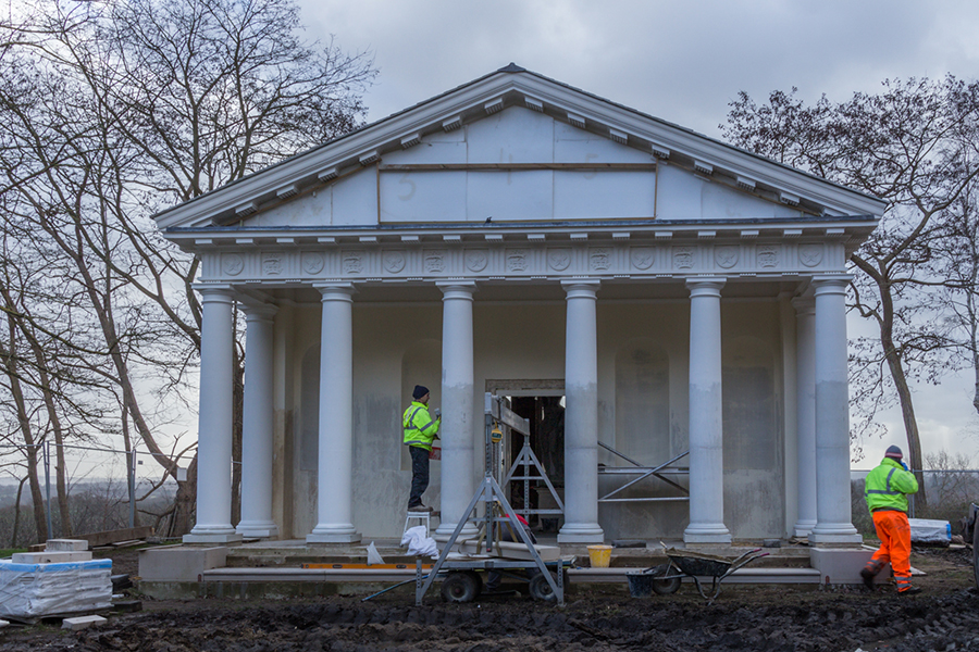 Restoration Work at Painshill