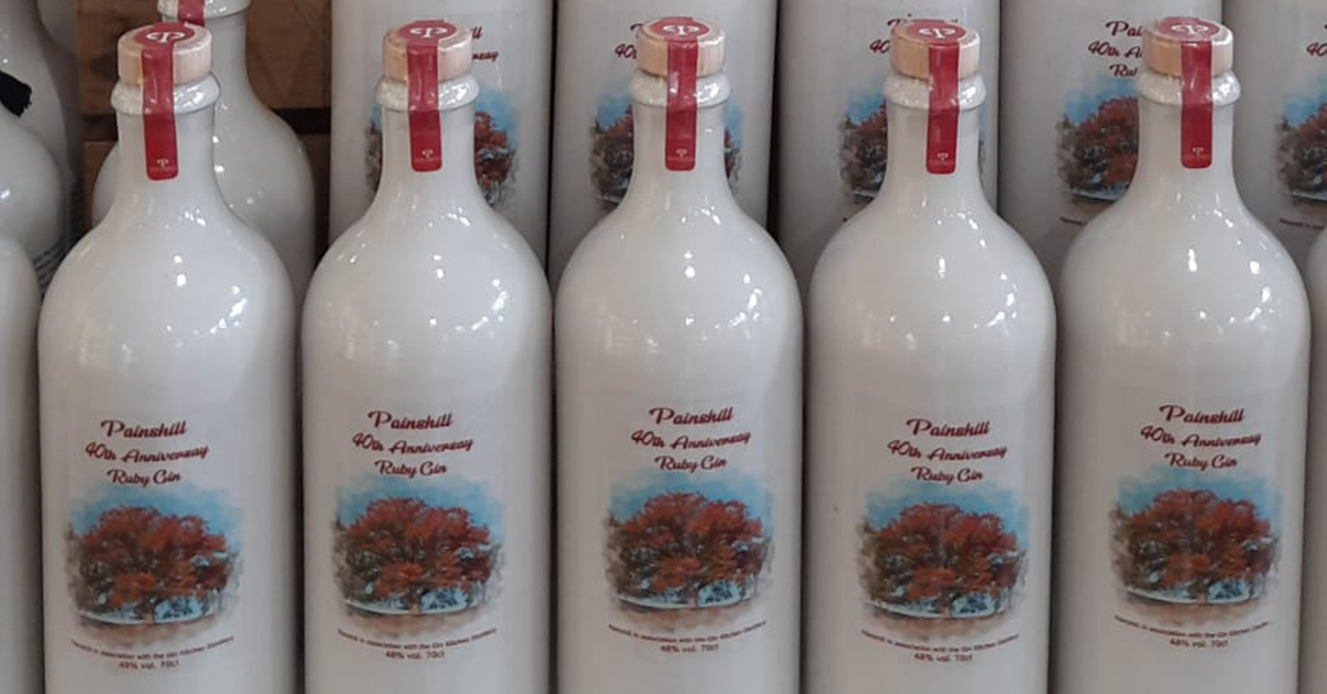 40th anniversary gin