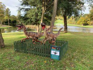 Dinosaurs at Painshill